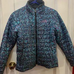 Reversible girls winter jacket